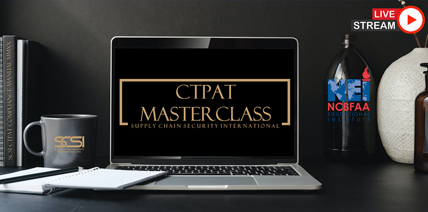 2021 CTPAT MASTERCLASS Training Schedule Released