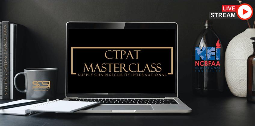 2021 CTPAT MASTERCLASS Training Schedule Released